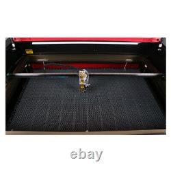 100W 1060 CO2 Laser Engraving Cutting Machine CW5200 Chiller Rotary RECI Tube US
