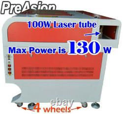 100W 47.24x35.43 USB CO2 Laser Engraver Cutter Engraving Cutting New Premium