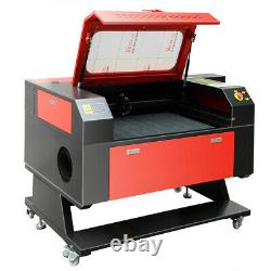 100W CO2 28''x20'' Laser Engraving Machine Engraver Cutter Electric Lifting USB