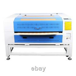 100W CO2 Laser Engraving Cutter Engraver CW5200 Chiller Linear Guides US Ship