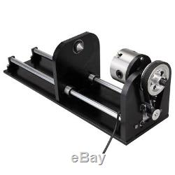 100W CO2 Laser Engraving Cutting Machine USB Up Down Table + CNC Rotary Axis
