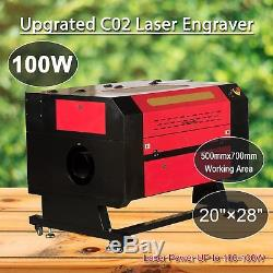 100W CO2 USB Laser Engraving Cutting Machine Engraver Cutter Woodworking/Crafts