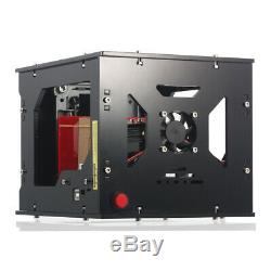 1500mW USB Laser Engraver Printer Carver DIY Engraving Cutter Carving Machine US