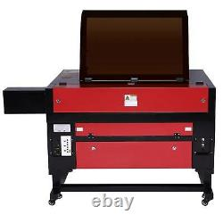 2021 CO2 Laser Engraver Cutter Engraving Machine 80W 28x20 with Rotation Axis