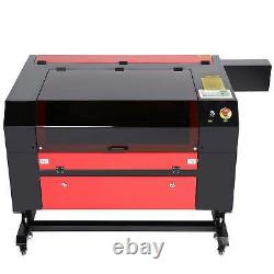 2021 Upgraded CO2 Laser Engraver Cutter 80W 28 x 20 with Rotation Axis Ruida