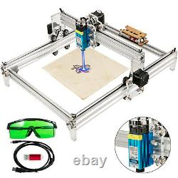 2500MW Mini CNC 3040 Laser Engraver 2Axis Gray Engraving Router Wood Plastic DIY