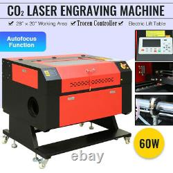 28 x 20 60W CO2 Laser Engraving Cutting Machine Laser Engraver Cutter USB