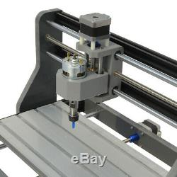 3 AXIS MINI DIY CNC Router Kit 3018 Laser Engraver Carver Machine USB+ GRBL 2in1