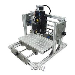 3 Axis DIY CNC Router Kit Engraving Milllng Machine for Metal Wood+500mW Laser