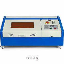40W CO2 Laser Cutter Engraving machine Cutting USB Upgrade-Version High Quality