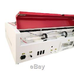 40W CO2 Laser Engraver Cutter With Exhaust Fan USB Port 12x 8