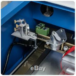 40W CO2 Laser Engraving Cutting Machine Engraver Cutter USB Port 12 x 8in Works