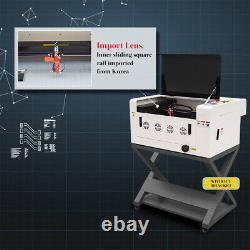 40W CO2 Laser Engraving and Cutting Machine LaserDRW USB Interface 12''x16'
