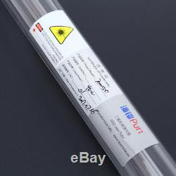 40W CO2 Laser Glass Tube For Laser Cutting & Engraver Machine USB Water Cooling