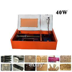 40W CO2 USB laser engraving and cutting machine good best software