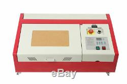 40W CO2 USB laser engraving and cutting machine good best software+ 4RADS