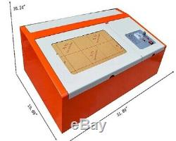 40W CO2 USB laser engraving and cutting machine software