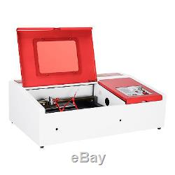40W Laser Engraving Machine With Exhaust Fan USB Port 12x 8