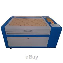 50W CO2 Laser Engraving Cutting Machine USB Port Up & Down Table 500x300mm