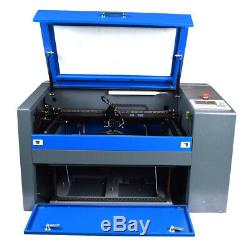 50W CO2 Laser Engraving Machine 5030 USB Laser Cutter Ruida DSP Control System