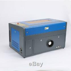 50W Laser Engraving Machine 2012 300 500mm CO2 Engraver Cutter W. Rotary
