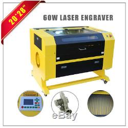 60W CO2 Laser Engraver 700 500mm Top Line Engraving Machine with USB Interface