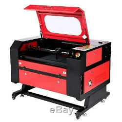 60W CO2 Laser Engraving Machine 28 x 20 With Rotary Axis Ruida Engraver Cutter