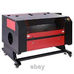 80W 28x20 Inch CO2 Laser Engraver Engraving Machine Ruida with Rotation Axis
