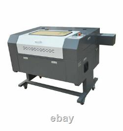 80W Co2 Laser Cutting Engraving Machine 700500mm Motorized CW3000 Rotary Laser