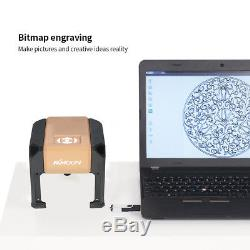 Automatic 3000mW High Speed Laser Engraving Machine USB DIY Carving Engraver US
