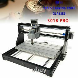 CNC 3018 PRO DIY Engraving Machine USB Metal Router GRBL Control with 500mw Laser