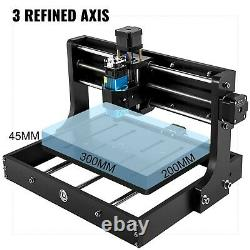 CNC 3020 PRO Engraving/Router, WITH 5.5W LASER & OFFLINE CONTROLLER, 3 Axis GRBL