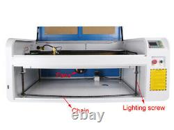 CO2 100W USB 1060 Laser Machine Auto-Focus Engraver Cutting Chiller Rotary Axis