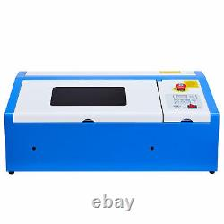 CO2 Laser Engraver Cutter 40W 12 × 8 Engraving Cutting Machine Upgraded K40