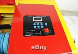 CO2 USB Laser Engraving Cutting Machine Engraver Cutter Woodworking Craft 40W US