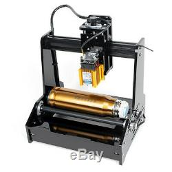 DIY stainless steel Cylindrical Laser Engraver Printer Machine, 15W USB