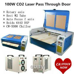 DSP 1060 100W Co2 Laser Cutting USB Auto Focus XY Linear Guide Engraver Machine