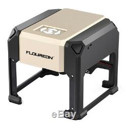 FLOUREON 3000mW DIY USB Laser Engraving/Carving Machine 8080mm Carving Space US