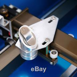 High Precision 40W CO2 Laser Engraving Cutting Machine 12x18in USB Movable Wheel