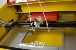 Intbuying New K40 CO2 USB Laser Engraving Cutting Machine woodworking/crafts 40W