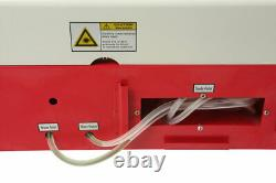 New 40W CO2 USB laser engraving and cutting machine good best software+ 4RADS