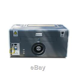 New! USB PORT 50W CO2 LASER ENGRAVING & CUTTING MACHINE 300500mm WITH CE, FDA