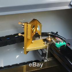 New USB PORT 50W CO2 LASER ENGRAVING & CUTTING MACHINE 300500mm WITH CE, FDA