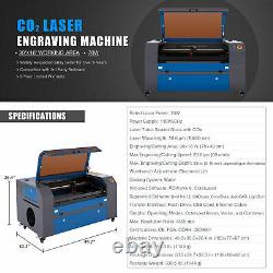 OMTech 70W 16x30 In. CO2 Laser Engraver Machine with Autofocus & Rotary Axis C