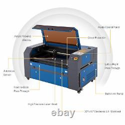OMTech 70W 30x16 Bed CO2 Laser engraver Cutter Etcher with Autofocus Ruida