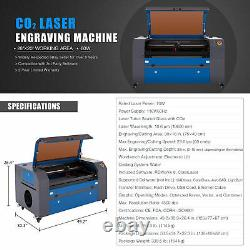 OMTech 70W 30x16 CO2 Laser Engraving Cutting Machine Autofocus Motorized Bed
