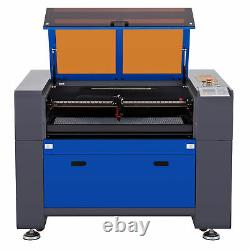OMTech CO2 Laser Engraver Cutter 70W 30x16in Ruida Autofocus W. Rotary Axis C