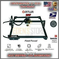 Ortur Laser 2 -20w Engraving Cutting Machine Large Work Area New Model US 2021