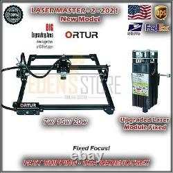 Ortur Laser Master 2 Engraving Cutting Machine Laser Head with M. Board New USA
