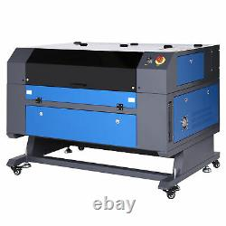 Preenex 28x20inch 60W CO2 laser Engraver Cutter Ruida with CW-5202 Water Chiller
